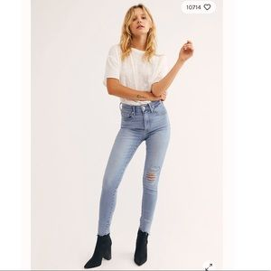 Levi's Mile High Super Skinny Jeans Bets Off